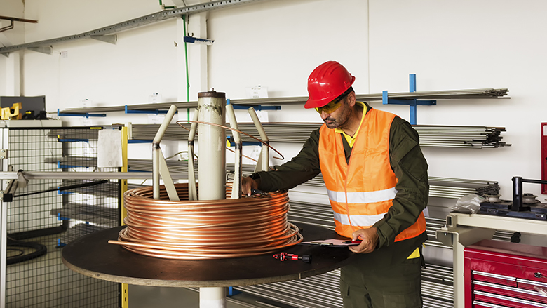 Copper cable factory. © Shutterstock/Official
